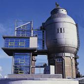 Wasserturm im Hüttenareal in Neunkirchen